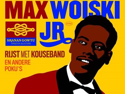 Max Woiski jr rijst met kouseband