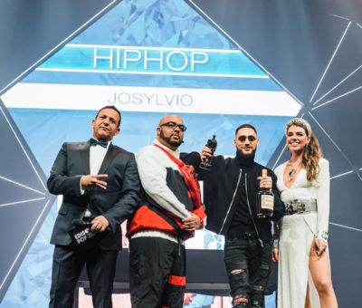 Josyvio wint Edison als beste Hiphop artiest 2020