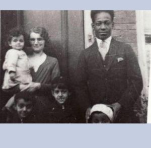 Anton de kom met gezin