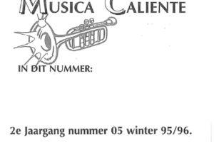 Musica Caliente 2e jaargang nummer 5 herfst 1995